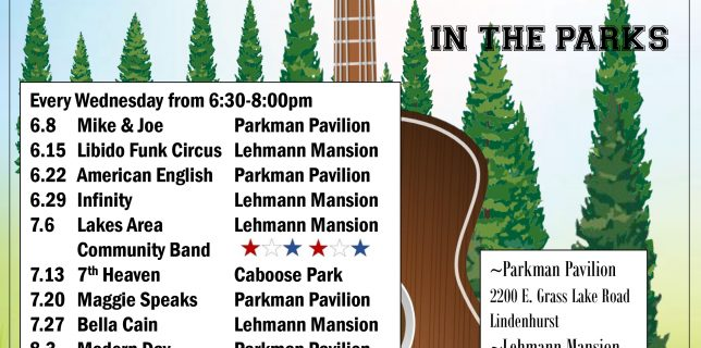 Live Music In The Parks